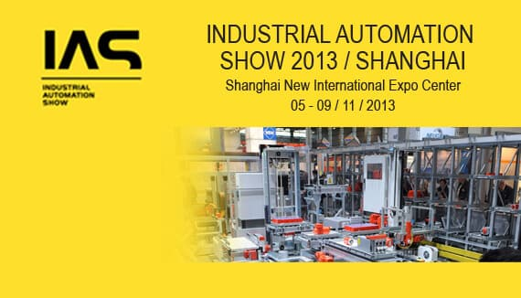 ELİMKO AT INDUSTRIAL AUTOMATION SHOW 2013 / SHANGHAI