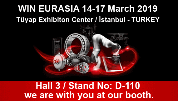 ELİMKO AT WIN EURASIA 2019...